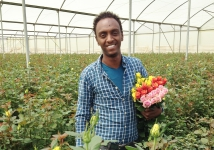Rosefarm in Ethiopia selects UFO spray suit